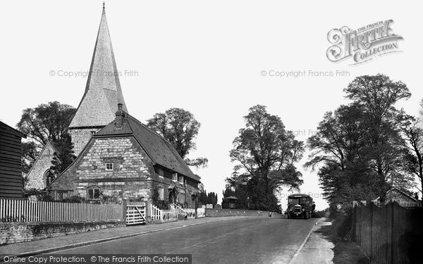 Photo of Ash, Church Hill 1932