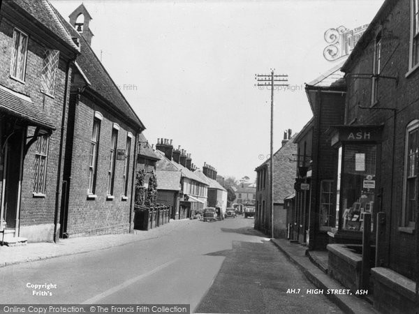 Ash, High Street c.1955