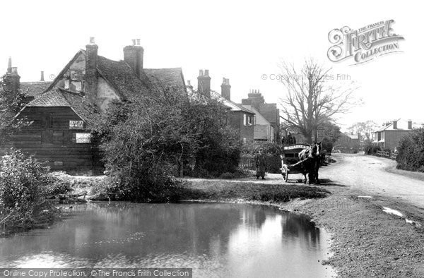 Photo of Ash, Post Office And Village 1905