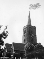 Ash, St Nicholas' Church c.1955