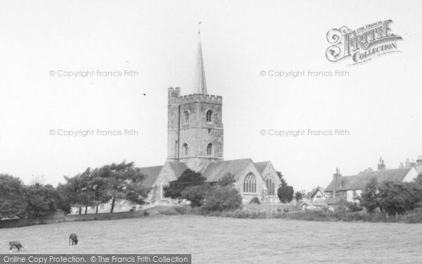 Photo of Ash, St Nicholas' Church c.1965
