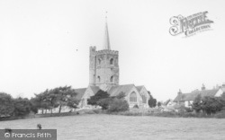 Ash, St Nicholas' Church c.1965