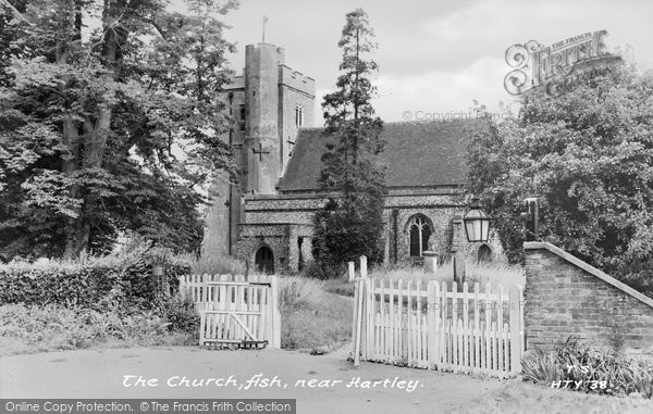 Photo of Ash, St Peter And St Paul's Church c.1960