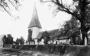 Ash, St Peter's Church 1905