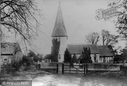 Ash, St Peter's Church 1905
