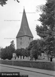 Ash, St Peter's Church 1954
