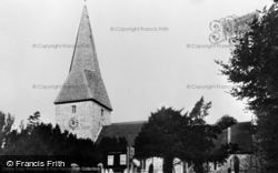 Ash, St Peter's Church 1955