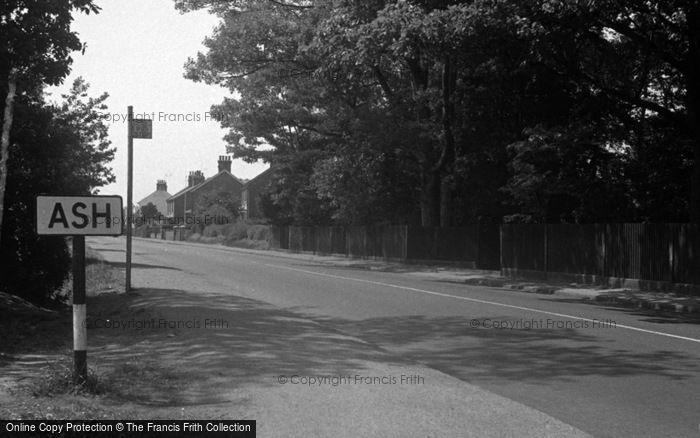 Photo of Ash, The Village c.1950