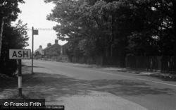 Ash, The Village c.1950
