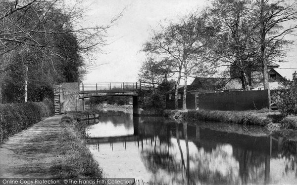 Photo of Ash Vale, Heath Vale Bridge 1905