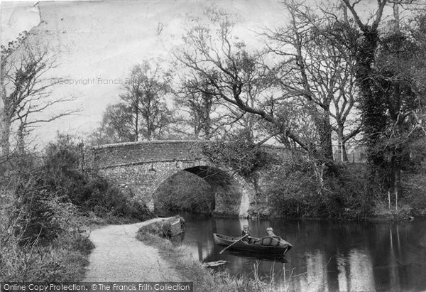 Photo of Ash Vale, Mytchett Bridge 1905