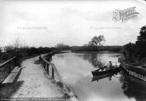 Photo of Ash Vale, On The Canal 1905