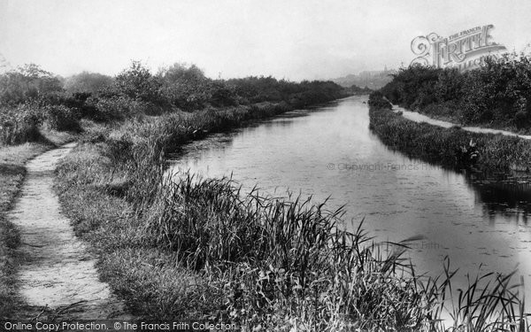 Ash Vale, On The Canal 1908