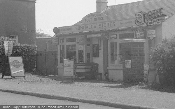 Photo of Ash Vale, Post Office 1956