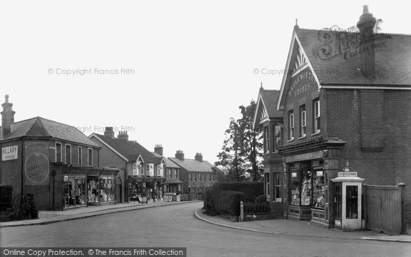 Photo of Ash Vale, Shawfield Road 1932
