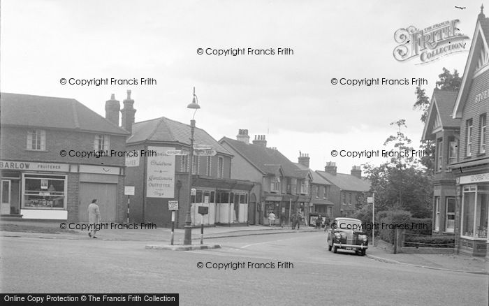 Photo of Ash Vale, Shawfield Road 1955