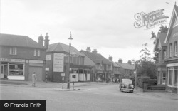 Ash Vale, Shawfield Road 1955