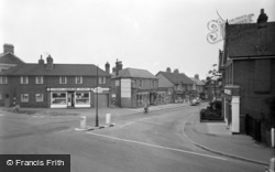 Ash Vale, Shawfield  Road 1960