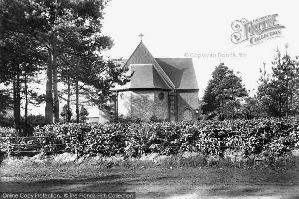Photo of Ash Vale, St Mary's Church 1908