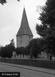 Ash Vale, St Peter's Church 1954