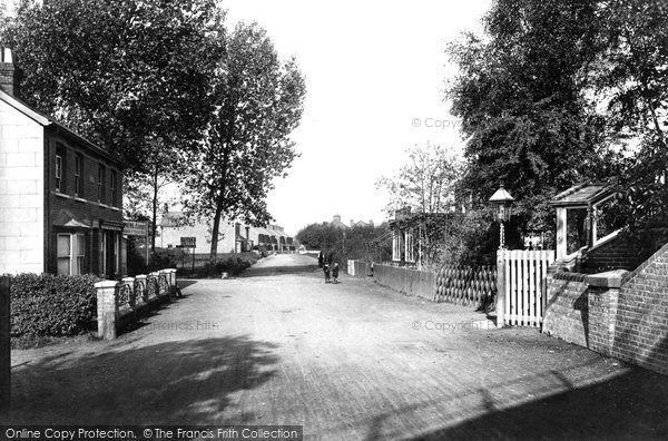 Photo of Ash Vale, Station View 1908
