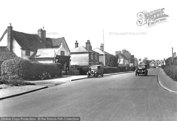 Photo of Ash Vale, Street And Post Office 1932