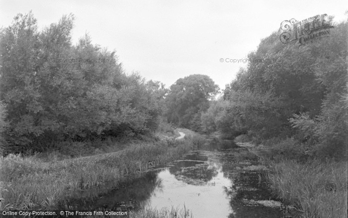 Photo of Ash Vale, The Canal 1955