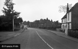 Ash Vale, The Main Road 1954