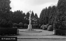 Ash Vale, The War Memorial 1955