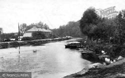 Ash Vale, The Wharf 1906