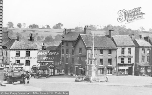 Photo of Ashbourne, Businesses In The Square c.1950