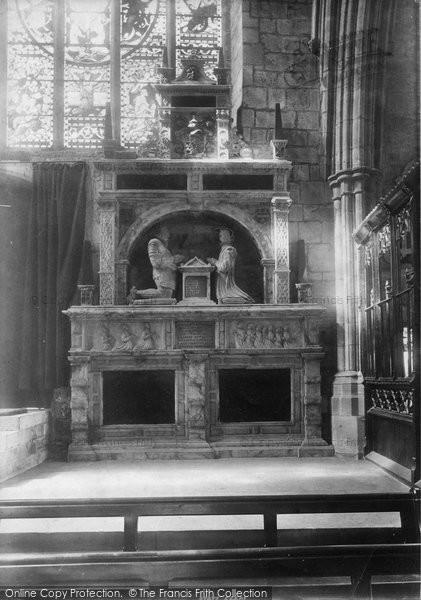 Ashbourne, Church, Cokayne Monument 1896