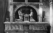 Ashbourne, Church, Cokayne Monument Detail 1896
