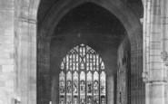 Ashbourne, Church Interior 1896