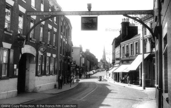 Ashbourne, Church Street c1955