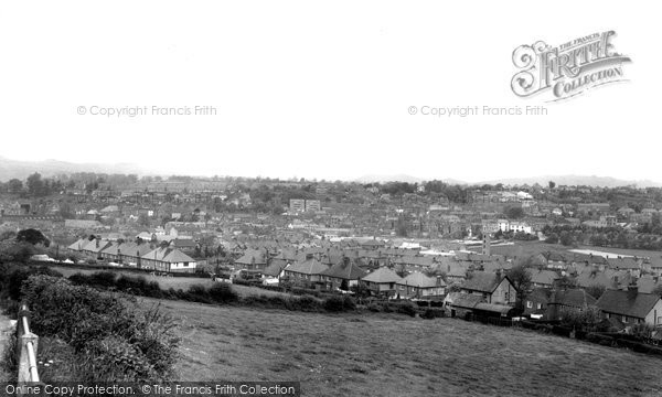 Photo of Ashbourne, General View c.1960