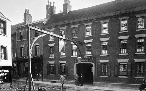 Ashbourne, Green Man and Black's Head Royal Hotel 1886