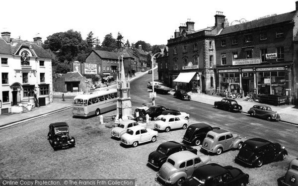 Photo of Ashbourne, Market Place 1957
