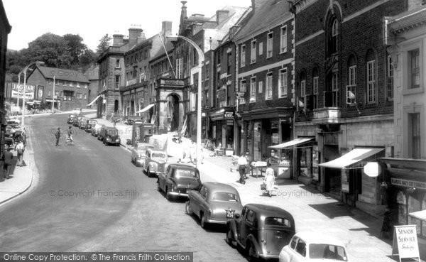 Ashbourne, Market Place 1957