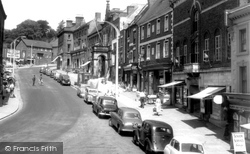 Ashbourne, Market Street 1957
