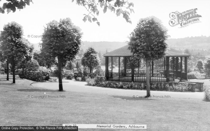 Photo of Ashbourne, Memorial Gardens c.1955