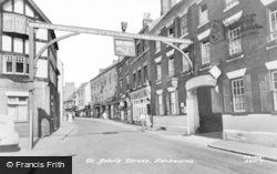 Ashbourne, St John's Street c.1955
