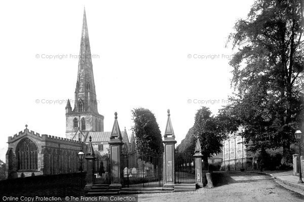 Ashbourne, St Oswald's Church 1886