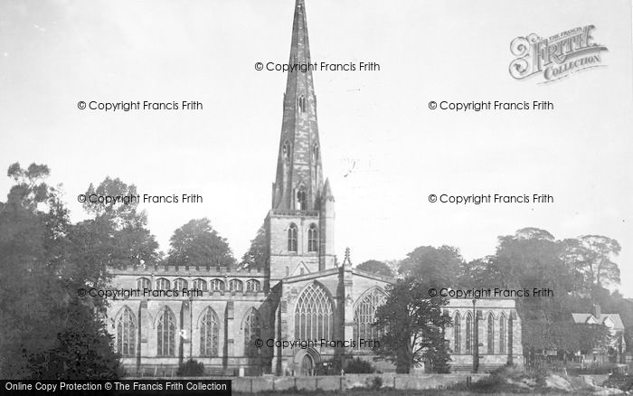 Photo of Ashbourne, St Oswald's Church 1886