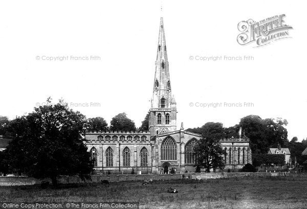 Photo of Ashbourne, St Oswald's Church 1896