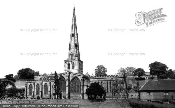 Ashbourne, St Oswald's Church c.1955