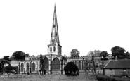 Ashbourne, St Oswald's Church c1955