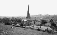 Ashbourne, St Oswald's Church c1950