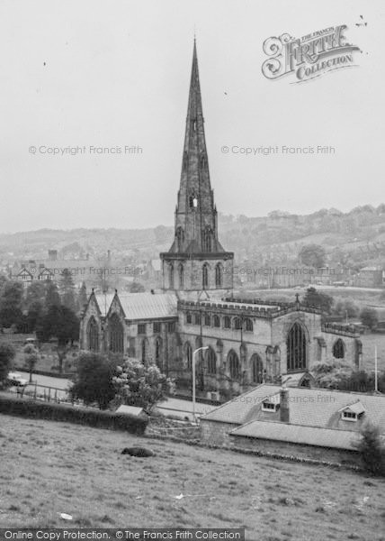 Photo of Ashbourne, St Oswald's Church c.1960