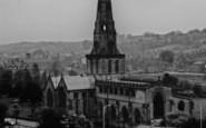 Ashbourne, St Oswald's Church c.1960